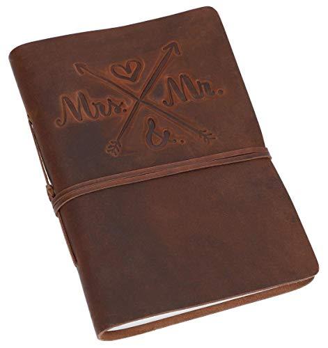 Gusti Notizbuch Leder -