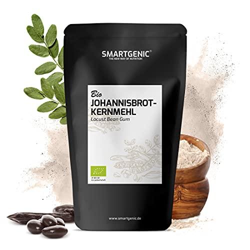 NEU! Johannisbrotkernmehl Bio 200g - Bindemittel laktose- & glutenfrei | der perfekte Ersatz für Speisestärke als Verdickungsmittel & Geliermittel | geprüfte BIO Qualität
