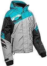 LRG Heather Gray Castle X Powder Womens Snowmobile Jacket