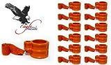 Eaglestar Keyed Alike Trailer King Pin Lock Trailer Lock (12, Orange)