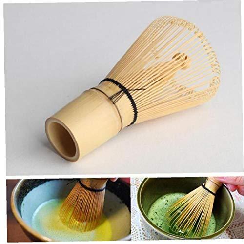 Estilo japones Que prepara el te de bambu en Polvo Batir Herramientas utiles Accesorios Matcha escobilla de Cocina