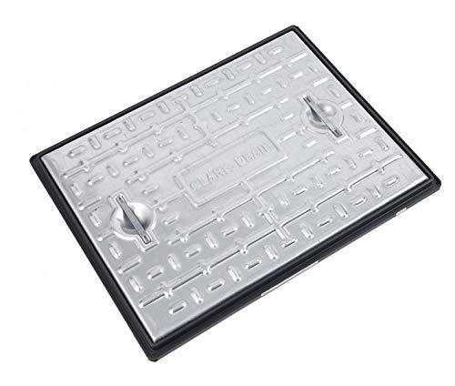 450/mm Durchmesser CLARK Drain CD452/Mannlochdeckel und Rahmen 3,5