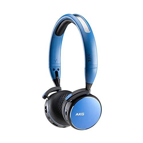 【AKG公式ストア】 AKG Y400 WIRELESS Bluetooth ワイヤレスヘッドホン AAC/SBC対応 AKGY400BT-E (ブルー)