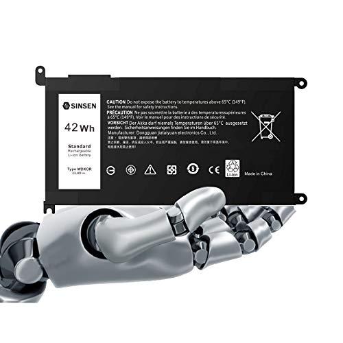 Laptop Battery for Dell, WDXOR Latitude Battery Inspiron Battery 13-5368 5378 5379 7368 7378 14-5468 7472 7460 15-5565 5567 5570 5578 7573 7580 7569 7570 17-5765 5767 5770