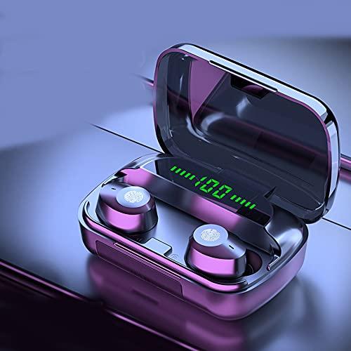 Auriculares Inalambricos Deportivos, Auriculares estéreo Audífonos para Correr con Bluetooth 5.1, Son adecuados para teléfonos iPhone/Samsung/Android Auriculares Wireless IPX5 con Mic Pantalla