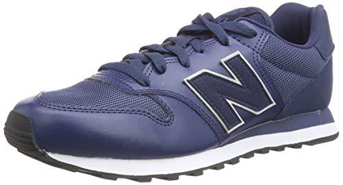 New Balance 500 Mixed Material Pack, Zapatillas Hombre, Natural Indigo, 45 EU