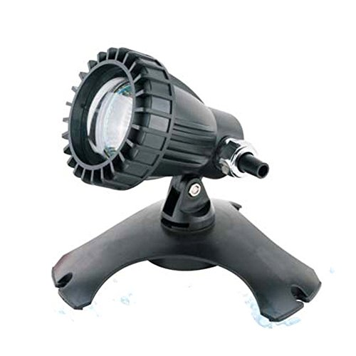 Aquaristikwelt24 Teichbeleuchtung Teichlampe Teichstrahler Unterwasser Beleuchtung Top Qualität