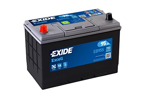 Exide 250Se EB955 - Batería de Coche 95 Ah.