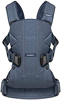 BABYBJORN Baby Carrier One - Classic Denim Blue, Cotton