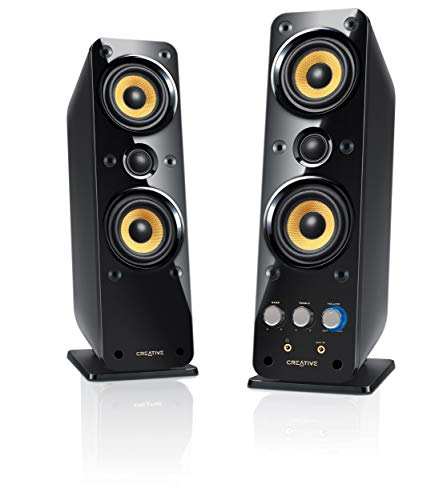 Creative GigaWorks T40 Series II 2.0 Multimedia Speaker System with BasXPort Technology, Black (Renewed)