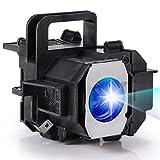 AuKing TW3200 Lampada per Proiettore per Epson ELPLP49 EH-TW3200EH-TW3500 EH-TW2800 EH-TW3800 EH-TW4500 EH-TW5000 EH-TW5500 PowerLiteHomeCinema835083458700UB8500UB 7500UB 9100 Videoproiettore