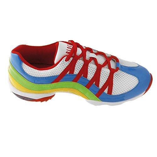 Bloch 523 Wave Tanz Sneaker Blau Größe 41 1/3