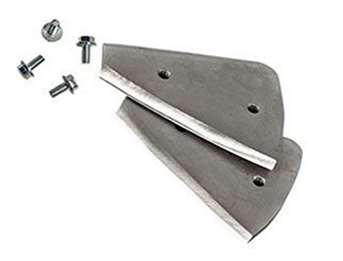 6 Inch Curved Ice Auger Blades for Eskimo/Strikemaster/ThunderBay/HT/ThunderBay/Nordic Legend