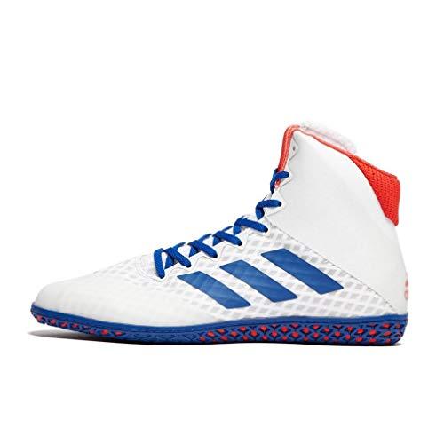 adidas Mat Wizard 4 Herren Wrestling Boots, Weiß, 44