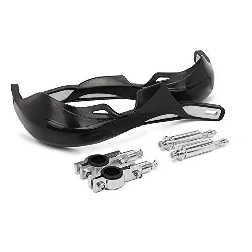 MISDD Universal-22mm 28mm Handschützer Lenkerhandschützer Schutz for KTM SX KLX YZ Alle Motorrad Dirt Bike Motocross Pit Handschalen (Color : Black)