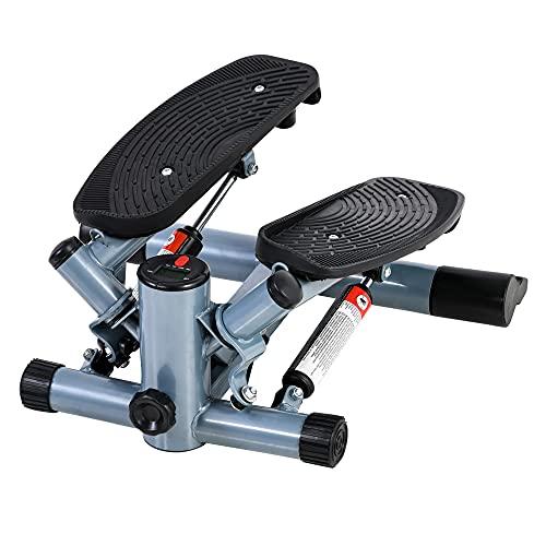 HOMCOM Mini Stepper Exercise Stepper Machine Legs Arms Thigh Toner Toning Machine Workout...