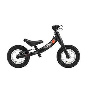 BIKESTAR Kinder Laufrad Lauflernrad Kinderrad für Jungen und Mädchen ab 2-3 Jahre | 10 Zoll Sport Kinderlaufrad | Schwarz