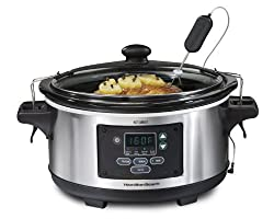 Hamilton Beach 33969A Set 'n Forget Programmable Slow Cooker