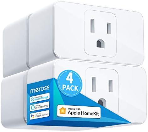 Meross Smart Plug Mini 16A Reliable WiFi Support Apple HomeKit Siri Alexa Echo Google Assistant product image