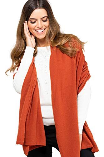 Kamea sjaal voor dames, 80% wol, macerata, frascati, Gorycja, herfst en winter sjaal, XXL sjaal, cadeau voor vrouwen