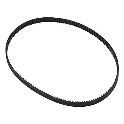 Vbestlife GT2 Timing Belt Pulley, 6mm Width GT2 Rubber Closed Loop Synchronous Timing Belt for 3D Printer(300mm)