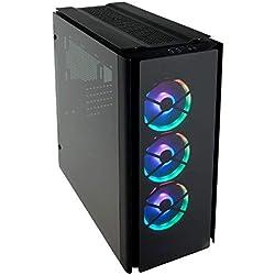 Corsair Obsidian 500D RGB SE Case da Gaming Mid-Tower Premium in Vetro Temperato e Alluminio, con Ventole LL120 e Commander PRO Inclusi