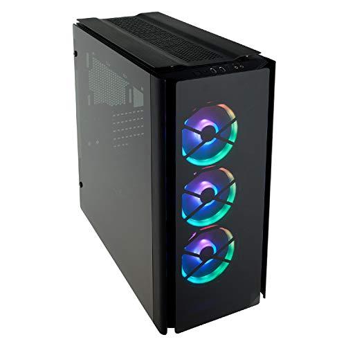 Corsair Obsidian 500D RGB SE Case da Gaming Mid-Tower Premium in Vetro Temperato e Alluminio con Ventole LL120 e Commander PRO Inclusi