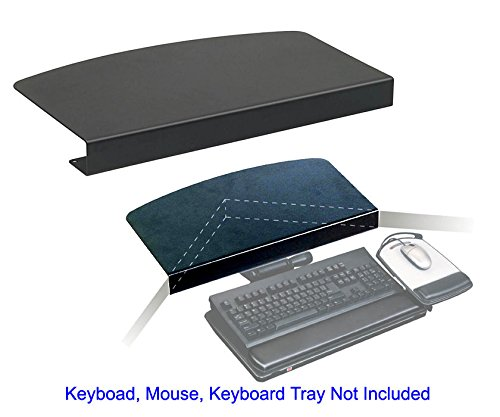 "3M Corner Maker for Keyboard Tray, CM100MB - 17"" Width x 8"" Depth x 1.5"" Height - Black (160782)"