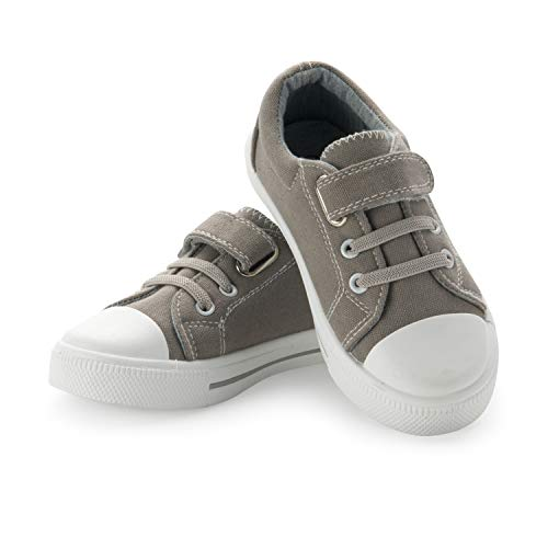 Grey Canvas Shoes for Boy