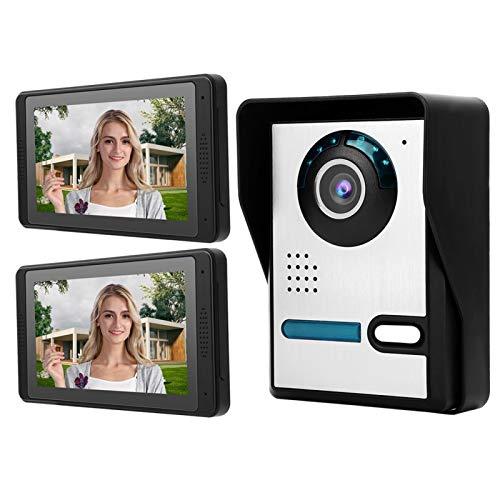 Monitor de alta definición Teléfono de puerta Instalación simple en la(European standard (110v-240v))