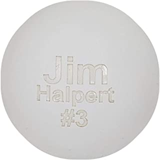 Personalized Laser Engraved Lacrosse Ball