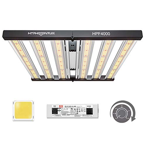 HYPHOTONFLUX HPF4000 LED Grow Lights 5x5ft with...