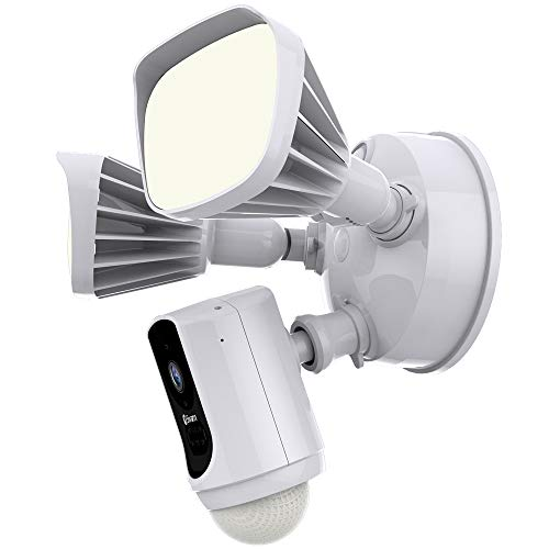 Swann Wi-Fi Series Floodlight Security Camera System 1080p, Works with Alexa and Google Assistant