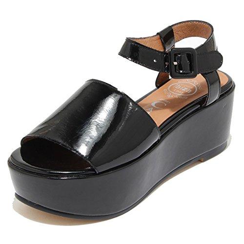 Jeffrey Campbell 3285I Sandali Zeppe neri Donna Lovell 2 Scarpe Shoes Women [40]