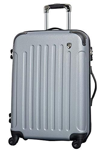 SS 【マットB】 ライトシルバー / newFK10371 スーツケース キャリーバッグ 軽量 TSAロック 超軽量 機内持込 (1〜3日用) マット加工 ファスナー開閉タイプ