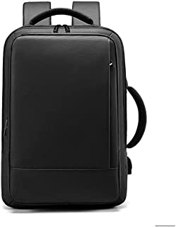 Fmdagoummzibeib Backpack, Black, Withfor USB Charger, worthy For 17.3-inch Laptops For Men And Women, raincoat Travel Back...