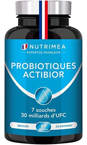 Probiotiques 30 milliards UFC/jour enrichis en...