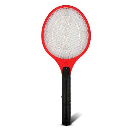 XNCH Raquette Anti-moustiques, Raquette Anti-Mouches portative à Piles, Filtre à Mouches idéal pour la Lutte antiparasitaire en intérieur et en extérieur