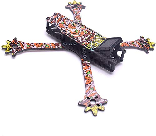 FPV Nova 5' 235 mm Racing - Freestyle Drone Frame Kit Fibra de Carbono