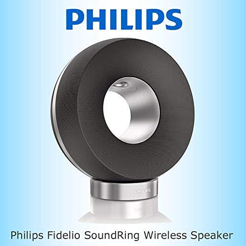 Philips Fidelio Sound Ring - Altavoz inalámbrico AirPlay (3,5 mm)