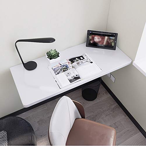 YZJJ Heavy Duty Small Folding Wall Table, Fold Down Wall Mount Desk, Perfect Addition to Home Office/Laundry/Home Bar/Kitchen & Dining Room