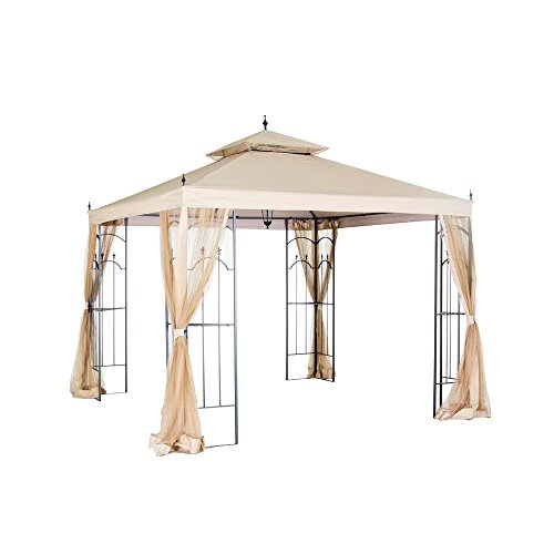 Hampton Bay Replacement Canopy for 10 ft. x 10 ft. Arrow Gazebo