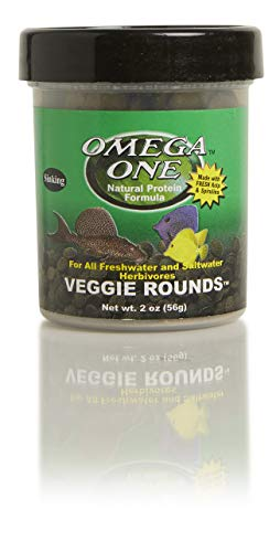 Omega One Veggie Rounds, 14mm Rounds, Sinking, 2 oz Container