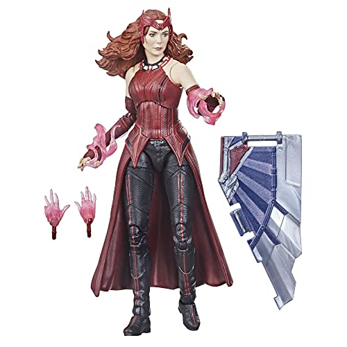 Marvel Avengers Hasbro Legends Series Avengers 6-inch Action Figure Toy Scarlet Witch, Premium Design And 4 Accessories, For Kids Age 4 and Up multicolor F0324