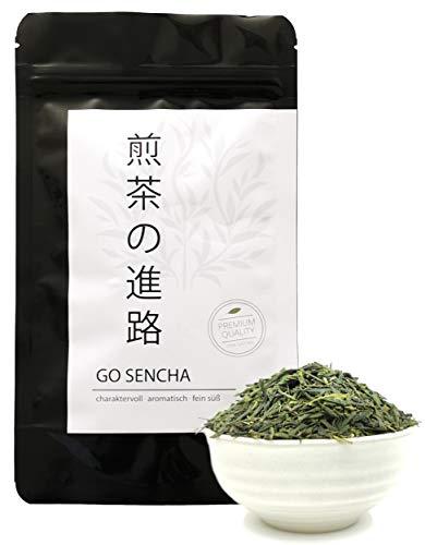 Go Sencha Grüner Tee Lose 100g, Sencha-no Shinro Kirishima Japan Kabuse Grüntee, TeaClub Green Tea