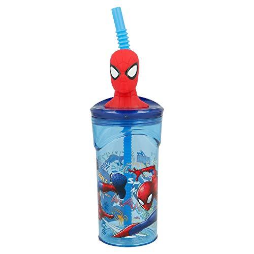 Stor Vaso FIGURITA 3D 360 ML | Spiderman Graffiti