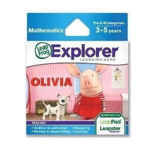 Toy / Game Leapfrog Explorer Learning Game: Olivia With Cartridge Games And Apps (For Ages 3 To 5 Years)