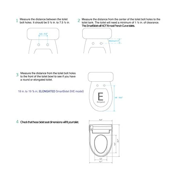 SmartBidet SB-3000 Electric Bidet Toilet Seat for Elongated Toilets with Wireless Remote Control with Screen, Unlimited… 5 All the Features You Imagine in One Model Posterior Wash is for His/Her Back. Feminine Wash is a gentler, wider wash for her front. Spiral Stream or Turbo Wash is the strongest, most concentrated wash for His/Her back. Having constipation problems? Use the Spiral Stream Wash which can help relieve constipation On Demand, Unlimited Warm Water Our Hybrid Heating System allows the water to be instantly and continuously warm at your desired temperature. No more cold water shooting up your butt in the mornings or winters! Enjoy this experience without havingn to worry about the water turning colder and colder.