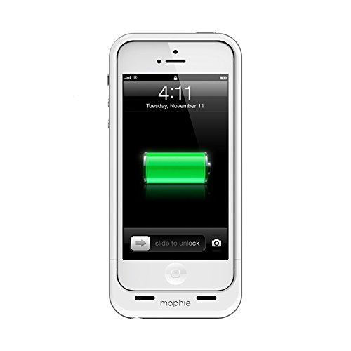 mophie 2106 Juice Pack Air Cell Phone battery case for Iphone 5 -  White