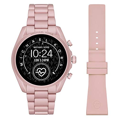 Michael Kors Women's Pink Smartwatch